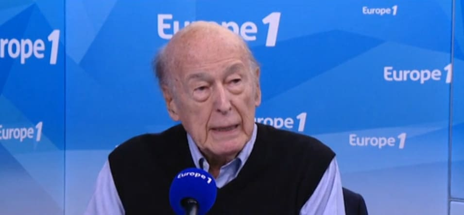 Valéry Giscard d'Estaing sur Europe1