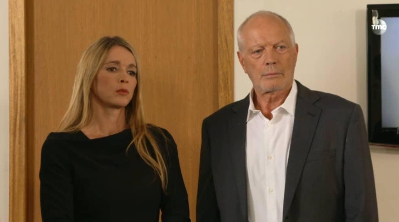 """Hélène et Jean-Paul (Les Mystères de l'Amour saison 9, épisode 21 """"Signatures"""")"""