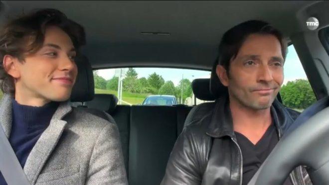 """Sylvain et Christian (Les Mystères de l'Amour saison 9, épisode 23 """"Fou d'amour"""")"""