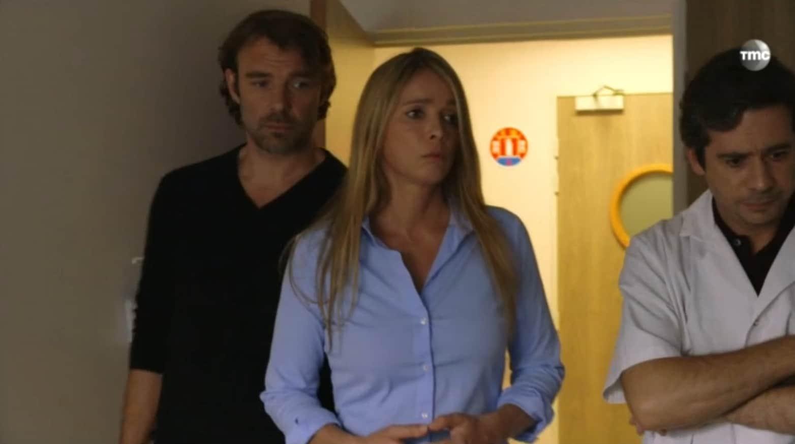 """Nicolas et Hélène (Les Mystères de l'Amour saison 9, épisode 26 """"Douloureuse décision""""="""