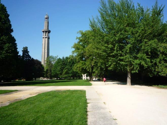Le parc Paul Mistral à Grenoble