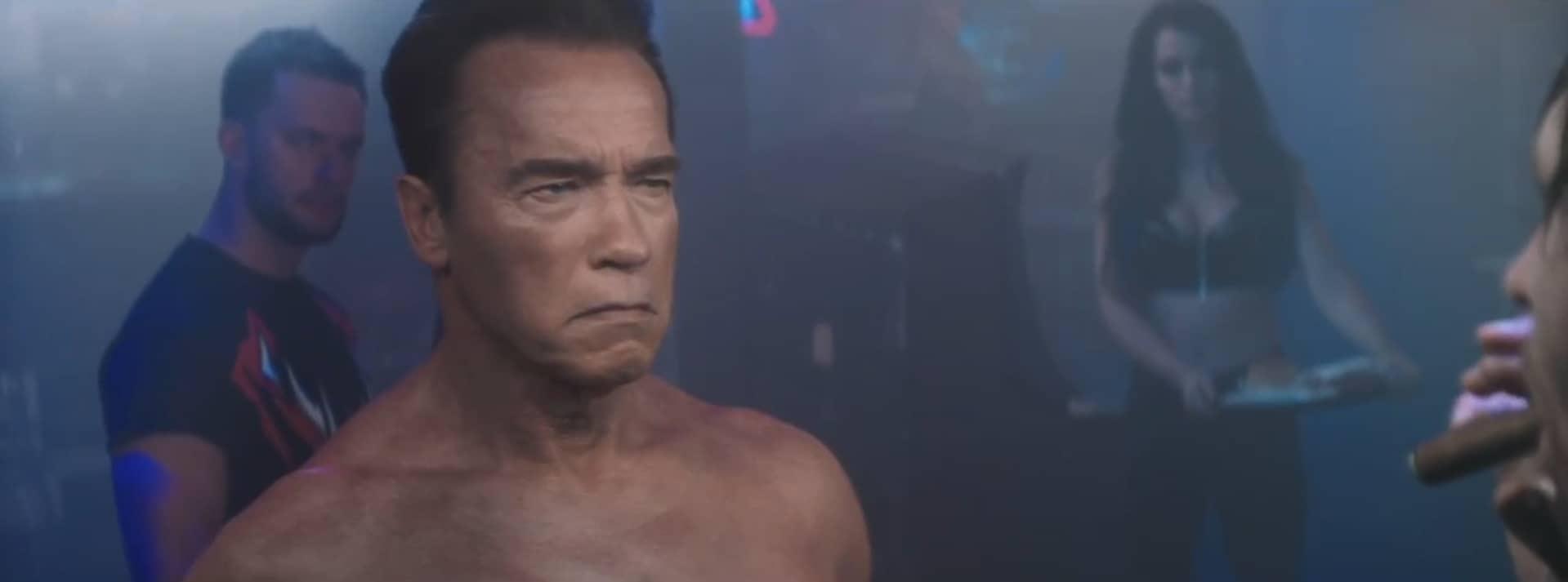 "Arnold Schwarzenegger, le ""Terminator"""