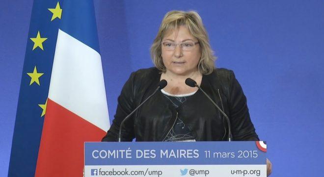 Natacha Bouchart, sénatrice-maire de Calais