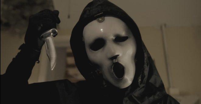 """Ghostface de la série """"Scream"""""""