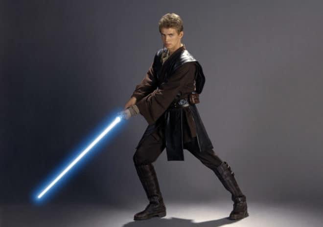 Anakin Skywalker, dans Star Wars - La Guerre des Etoiles.