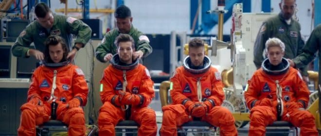 One Direction. Capture d'écran Youtube.