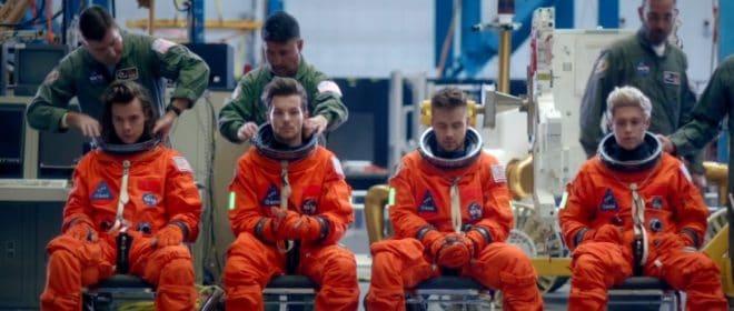 One Direction. Capture d'écran Youtube.