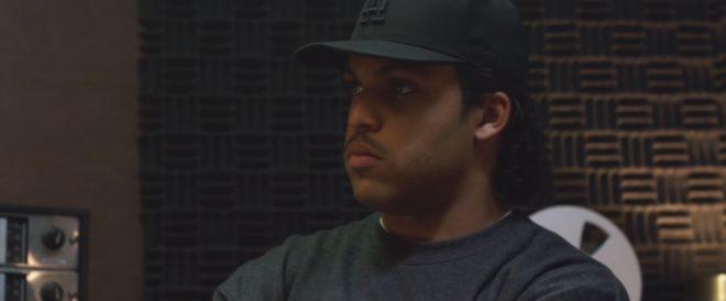 "O'Shea Jackson Jr interprète Ice Cube dans ""NWA - Straight Outta Compton"""
