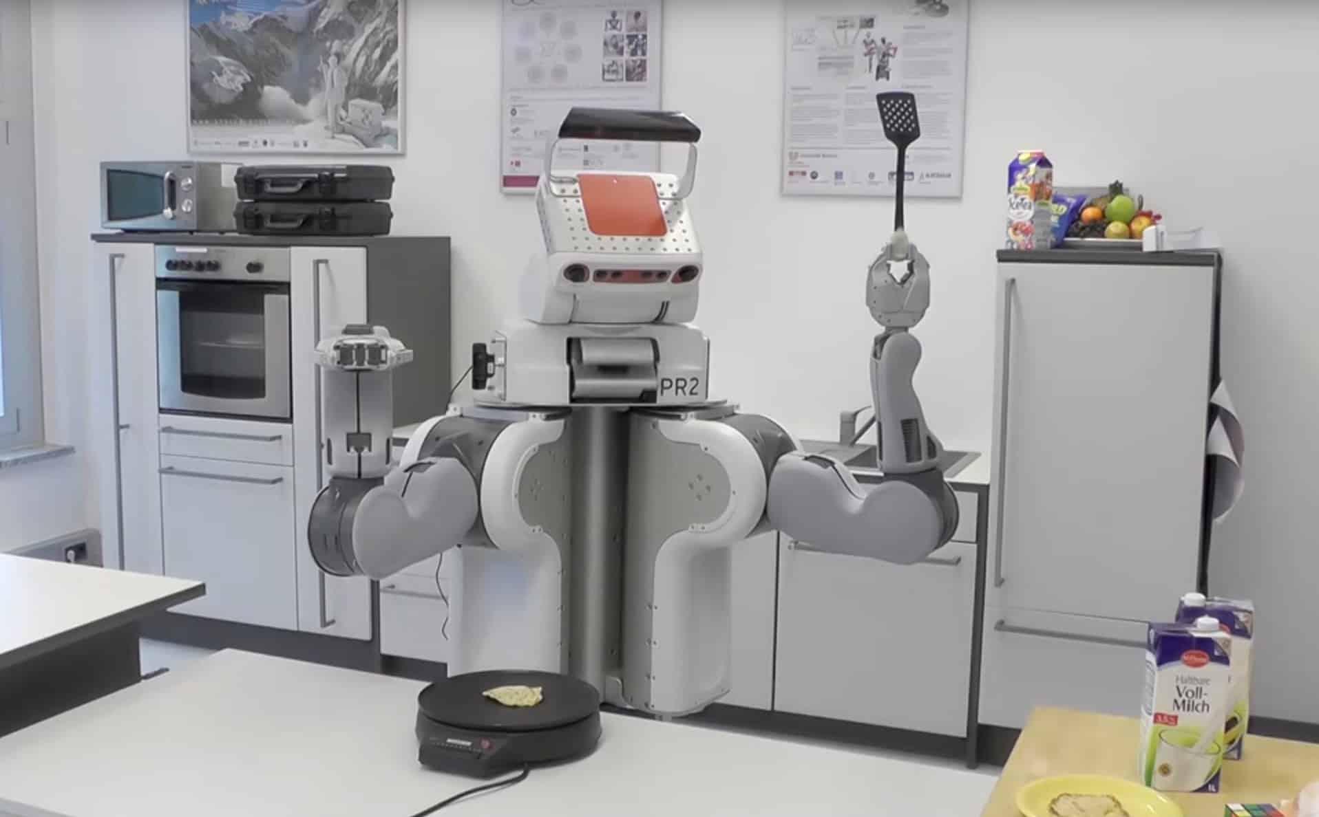 un robot connect capable de cuisiner seul. Black Bedroom Furniture Sets. Home Design Ideas