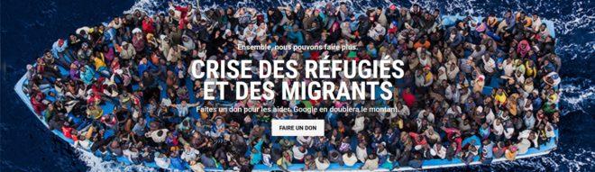 Action Google face à la crise des réfugiés et des migrants