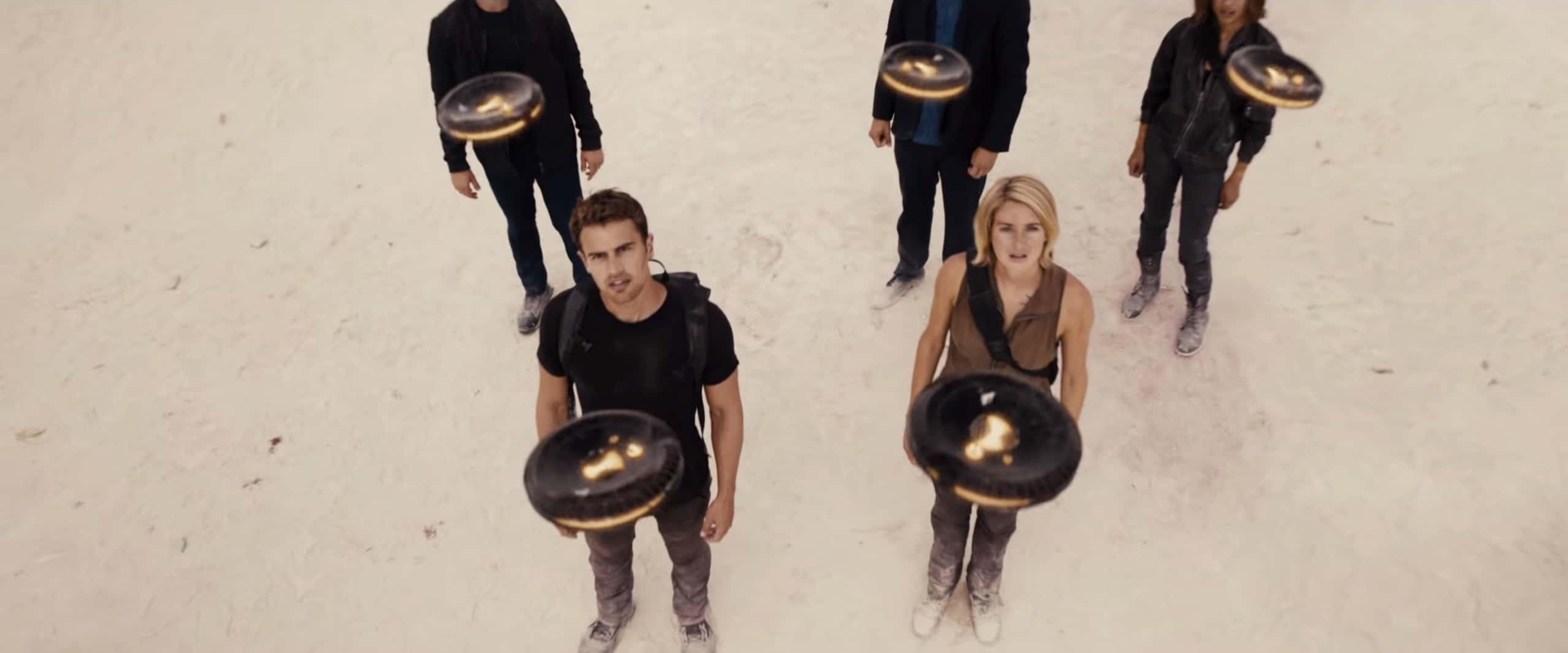 Les premières images de Divergente 3 - Allegiant