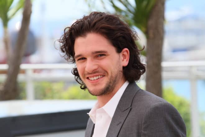 L'acteur britannique Kit Harington, qui incarne Jon Snow dans Game of Thrones.