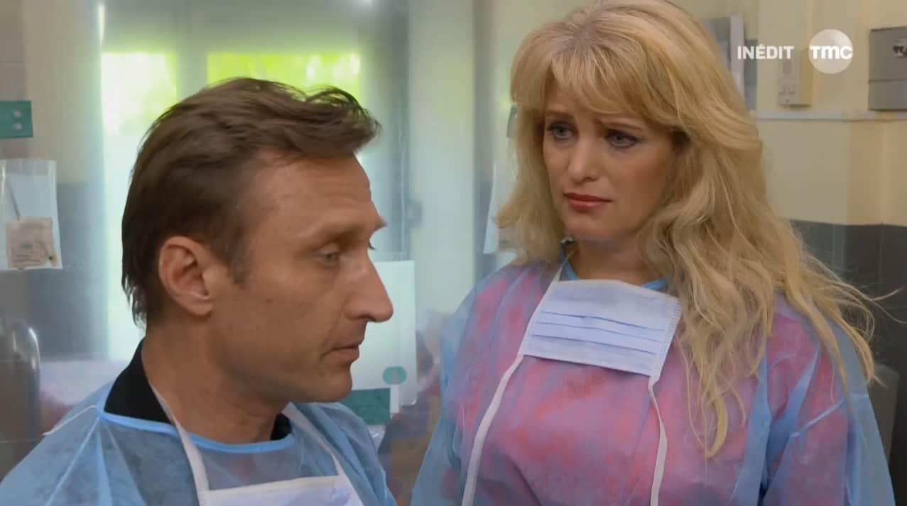 """Anton et Alexandra Danilenko (Les Mystères de l'Amour saison 10, épisode 6 """"Pièges et cadeaux"""")"""