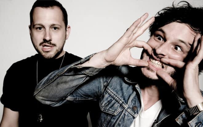 Le duo électro The Shoes, composé de Guillaume Brière et Benjamin Lebeau.