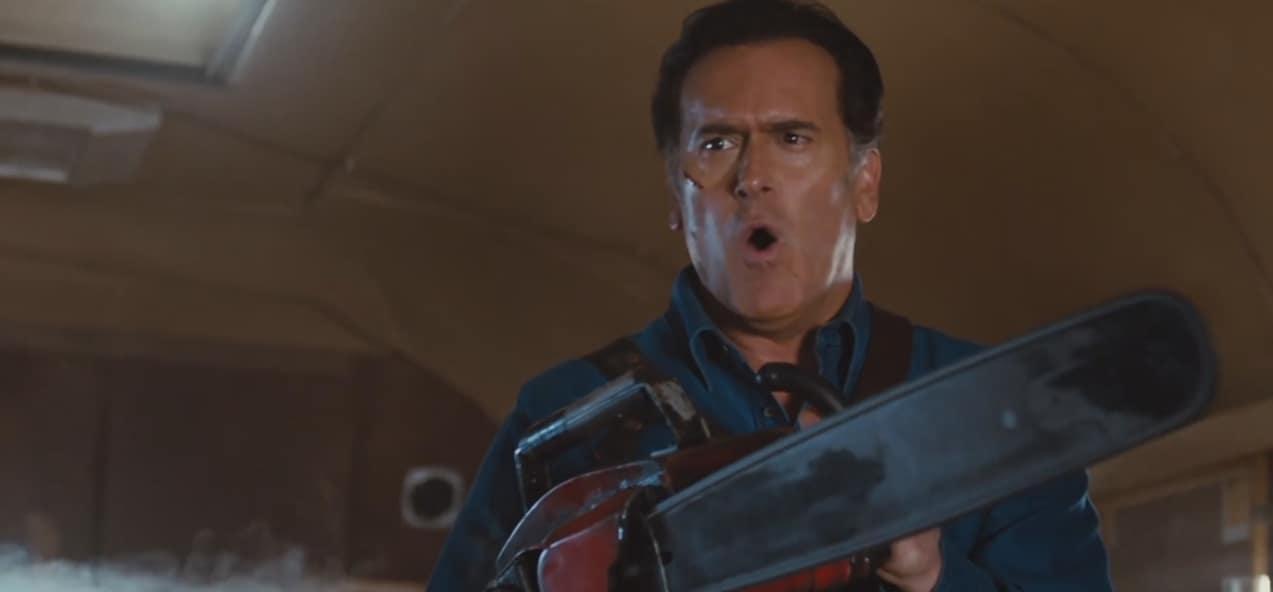 "Bruce Campbell dans ""Ash vs Evil Dead"""