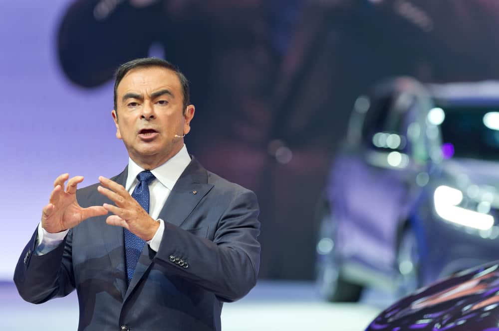 Carlos Ghosn, patron de l'alliance Renault-Nissan.