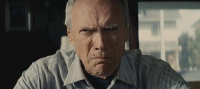 "Clint Eastwood dans ""Gran Torino"""