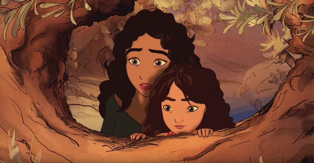 """Salma Hayek-Pinault assure la voix française de Kamila, la mère d'Almitra dans le film d'animation """"Le Prophète"""""""