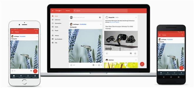 Google Plus change de peau et recentre ses activités