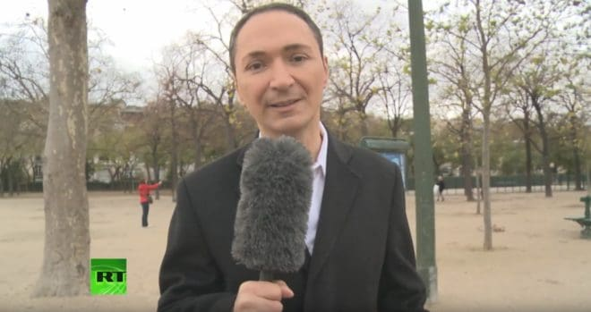 Philippe Verdier sur RT France, antenne française de Russia Today