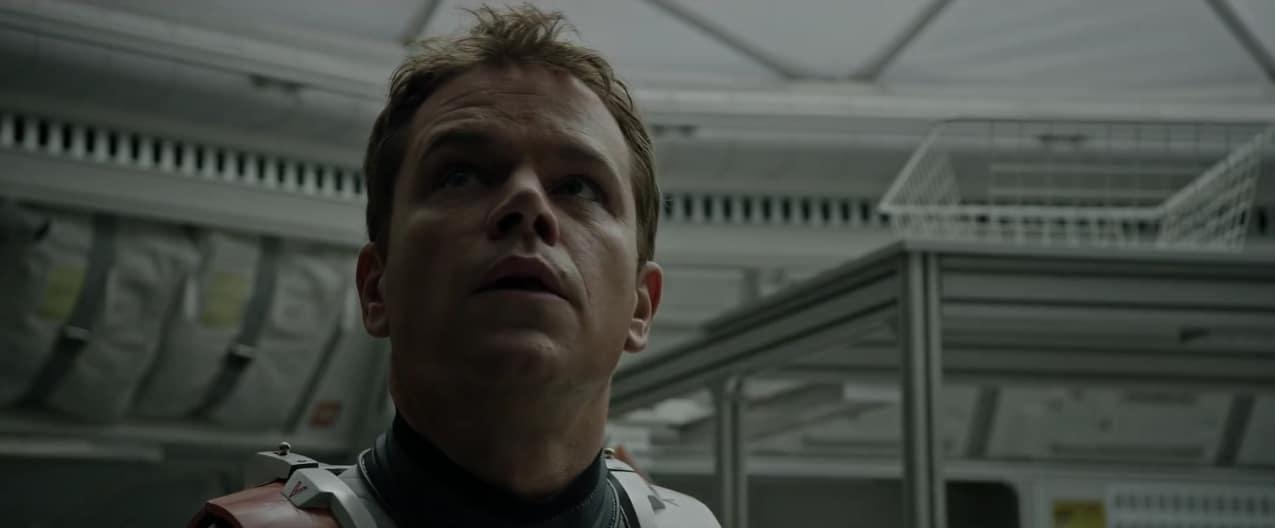 "Matt Damon dans ""Seul sur Mars"""