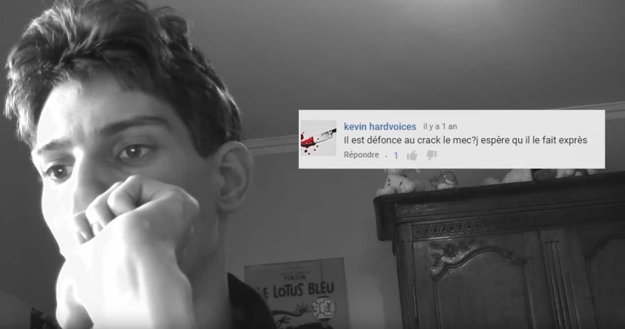 Campagne #KillLaBetise de L'Adapt - Un YouTubeur lit les commentaires d'insultes laissés sur ses vidéos