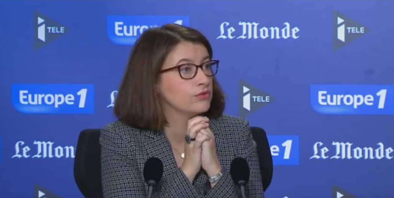 """Cécile Duflot au """"Grand Rendez-vous"""" d'Europe1 le 20 décembre 2015"""
