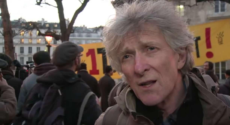 Jean-Baptiste Eyraud, porte-parole de l'association Droit au Logement (DAL)