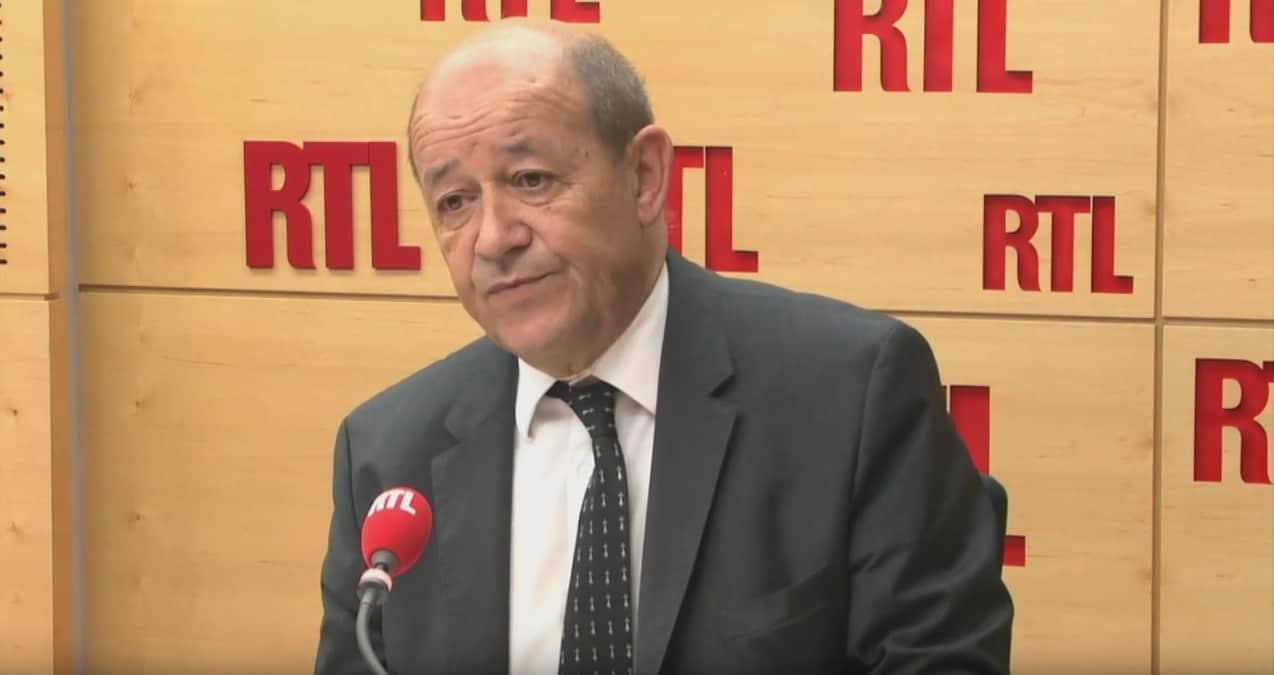 Jean-Yves Le Drian sur RTL