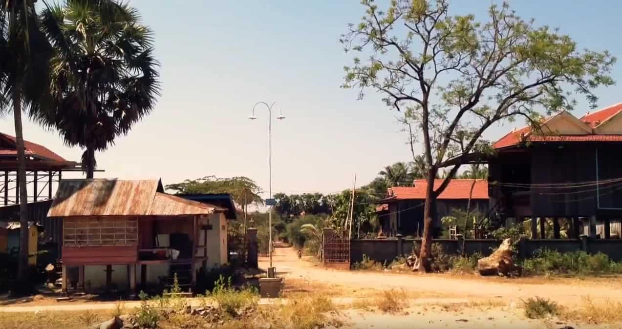 Kratie, Cambodge. Image d'illustration.