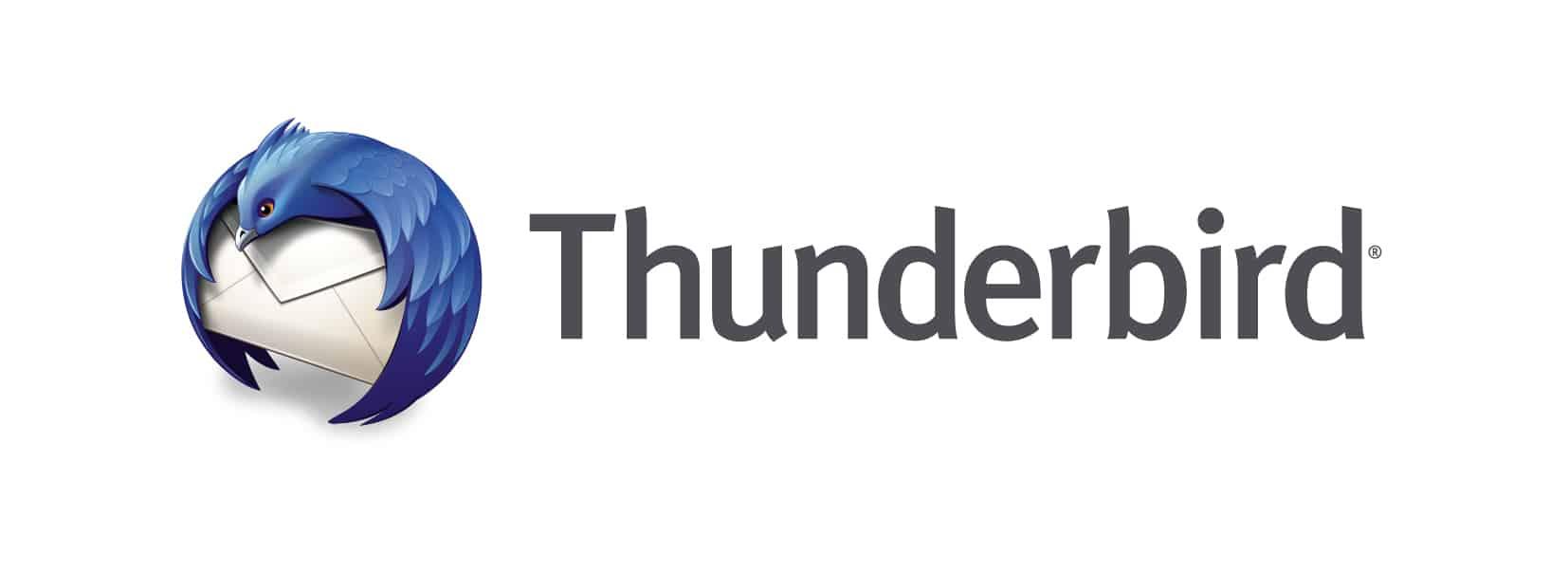 Le logo du client mail Thunderbird