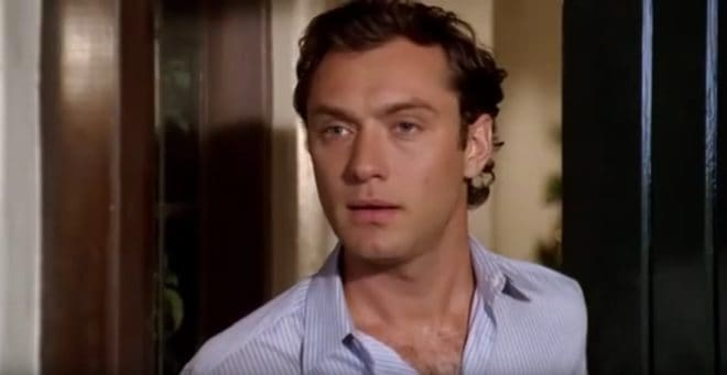 "Jude Law dans ""The Holiday"""