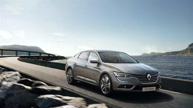 La Renault Talisman est la Plus Belle Voiture De L'Année 2015