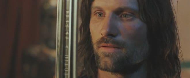 """Aragorn (Viggo Mortensen) dans """"Le Seigneur des anneaux : Le Retour du roi"""""""