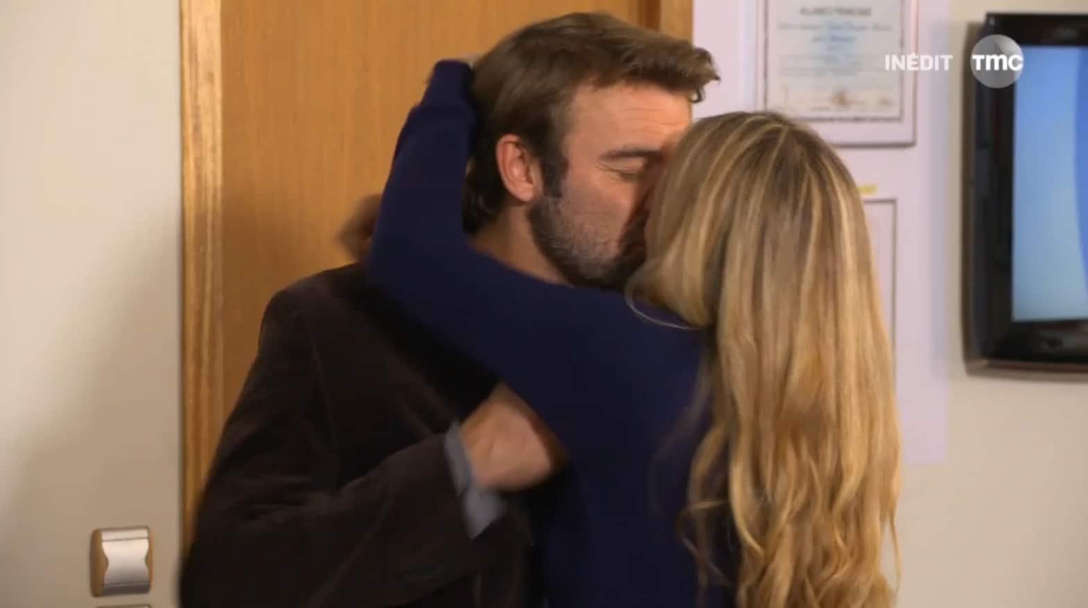 """Nicolas et Hélène (Les Mystères de l'Amour saison 11, épisode 12 """"Songes et mensonges"""")"""