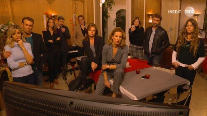 """Les amis d'Hélène (Les Mystères de l'Amour saison 11, épisode 15 """"La chute"""")"""