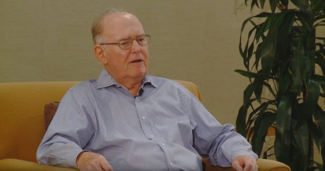 Gordon Moore en 2012