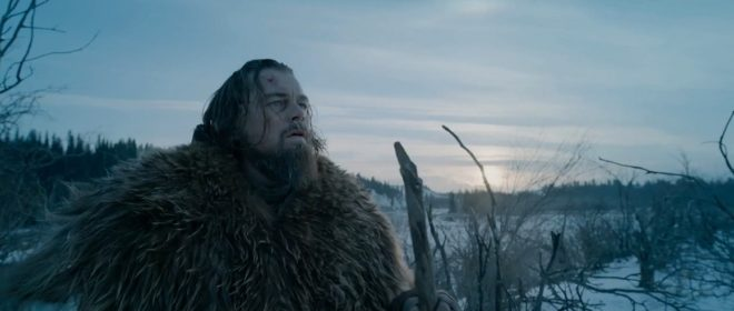 "Leonardo DiCaprio dans ""The Revenant"""