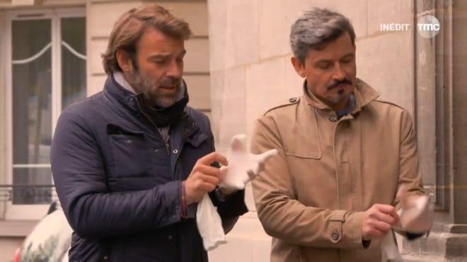 """Nicolas et José (Les Mystères de l'Amour saison 11, épisode 17 """"Risques d'explosions"""")"""