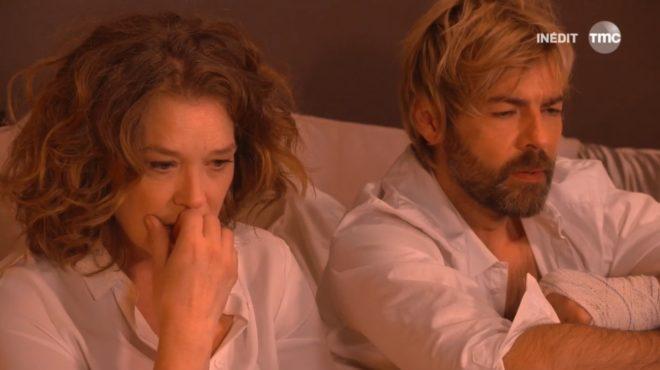 """Johanna et Étienne (Les Mystères de l'Amour saison 11, épisode 19 """"Angoisses"""")"""