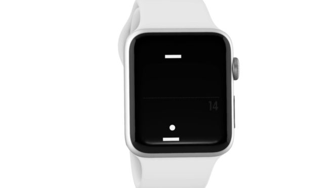 Pong sur Apple Watch