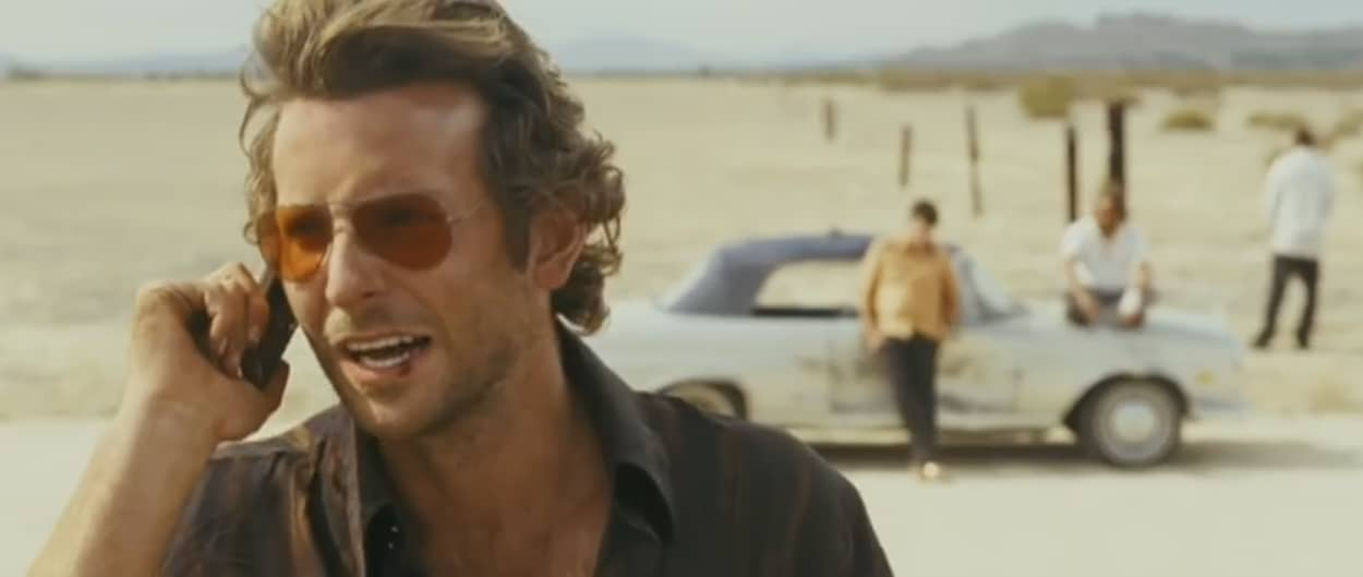 """Bradley Cooper dans """"Very Bad Trip"""""""