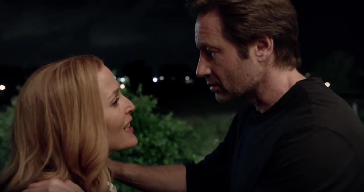 """Gillian Anderson et David Duchovny dans la saison 10 de """"X-Files"""""""