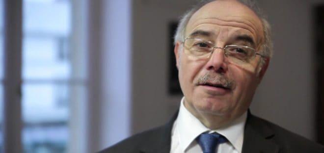L'ancien maire socialiste d'Aubervilliers Jacques Salvator en 2012