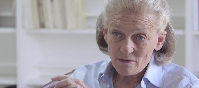 La philosophe Élisabeth Badinter