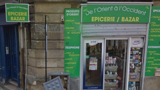 La boutique du gérant condamné pour discrimination à Bordeaux en avril 2016.