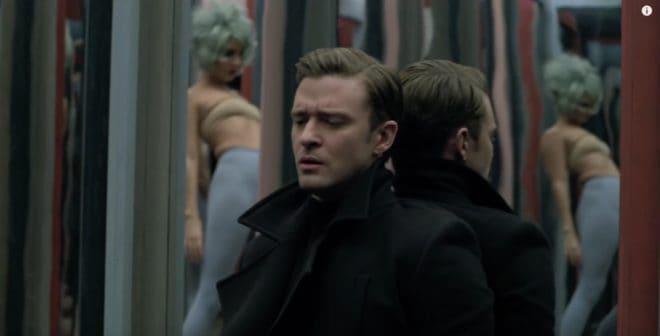 "Justin Timberlake dans son clip ""Mirrors"""