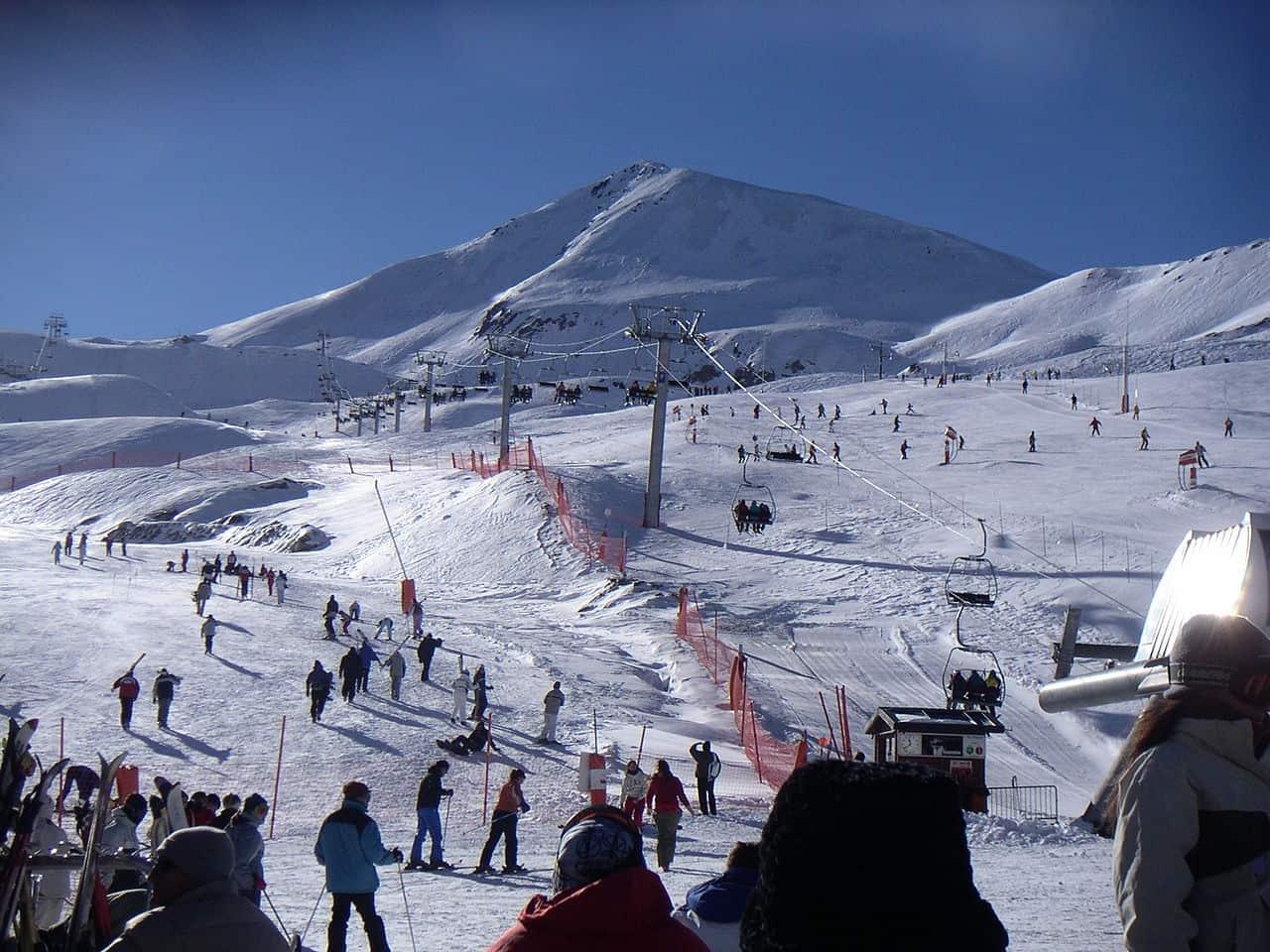 Une station de ski dans les Pyrénées