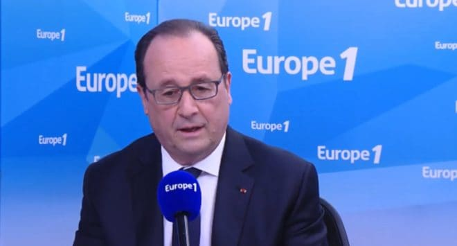 François Hollande sur Europe1 le 17 mai 2016
