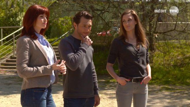 """Marie, Anthony et Stéphanie (Les Mystères de l'Amour saison 12, épisode 20 """"Histoires d'enfants"""")"""